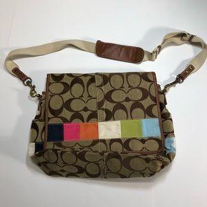 Coach Colors Messenger Bag